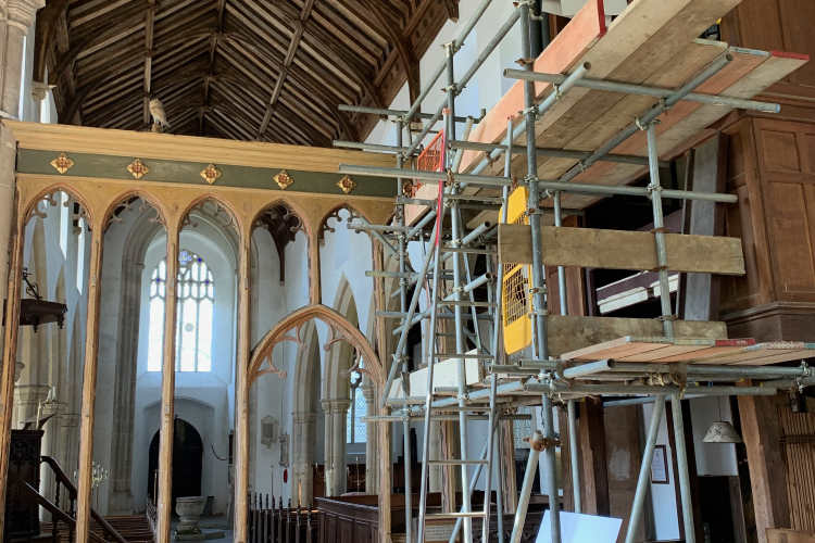 heydon organ scaffold 750AT
